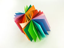 Multi coloured pad Royalty Free Stock Images