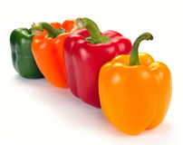 Multi-coloured paprika Royalty Free Stock Photo