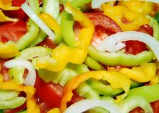Multi-coloured pepper. Stock Photography