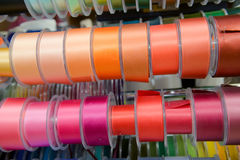 Multi coloured ribbon Stock Photo