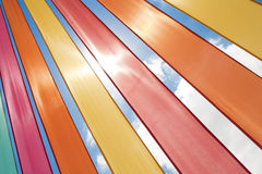 Multi-coloured Ribbons Royalty Free Stock Photo