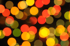 Multi coloured sparks Royalty Free Stock Images