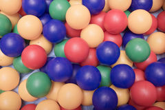 Multi-coloured spheres Stock Images