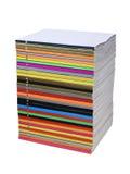 Multi-coloured stapel Royalty-vrije Stock Fotografie