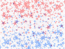 Multi-coloured stars royalty free stock photography