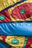 Multi-coloured stof Royalty-vrije Stock Afbeeldingen