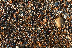 Stones background. Multi coloured stones background picture royalty free stock photo