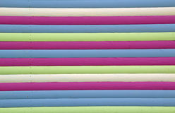 Multi coloured stripes Stock Images