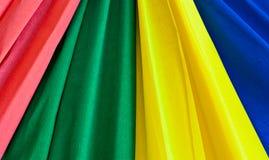 Multi-coloured strips Stock Photo