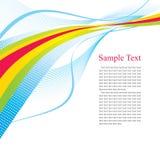 Multi-coloured strips Royalty Free Stock Photo