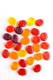 Multi-coloured sugar candies. Stock Image