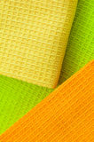 Multi-coloured towels Royalty Free Stock Photography