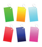 Multi contrassegno di colore Fotografia Stock Libera da Diritti
