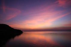 Multi cor da nuvem e do céu foto de stock
