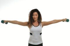 Multi dar certo ehtnic atrativo do atleta fêmea foto de stock royalty free