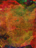 Multi de textuurachtergrond van de kleurenverf vector illustratie