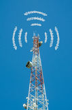 Multi-directional antenna communications Stock Images