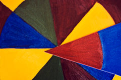 Multi documento colorato Immagini Stock