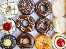 Multi donuts вкуса Стоковое Изображение RF