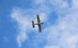 Multi-Engine Propeller Plane Royalty Free Stock Image