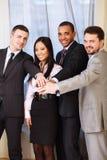 Multi equipe étnica do negócio Imagem de Stock Royalty Free