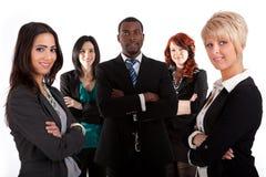 Multi equipe étnica do negócio Fotografia de Stock