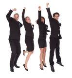Multi equipe étnica dos executivos Foto de Stock