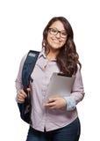 Estudante de jovem mulher imagens de stock