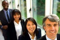 Multi-ethnic команда стоковая фотография