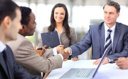 Multi ethnic business executives Royalty Free Stock Images