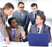 Multi ethnic business executives Royalty Free Stock Photo