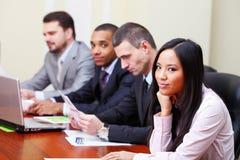 Multi ethnic business group Royalty Free Stock Image
