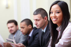 Multi ethnic business group Stock Photo