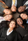 Multi-ethnic business group Stock Images