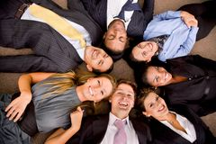 Multi-ethnic business group Royalty Free Stock Image