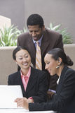 Multi Ethnic Business People In A Meeting Royalty Free Stock Images
