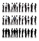 Multi-ethnic Business people. The vector of Multi-ethnic Business people stock illustration