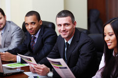 Multi ethnic business team Royalty Free Stock Photography
