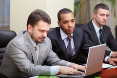 Multi ethnic business team Stock Photo