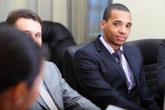 Multi ethnic business team Royalty Free Stock Photo