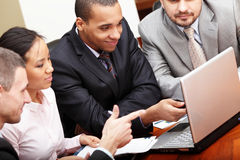 Multi ethnic business team Royalty Free Stock Photos