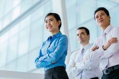 Multi-ethnic business team Stock Photos
