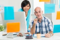 Multi-ethnic business team Stock Photography