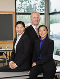 Multi-ethnic co-workers in conference room Stock Photography