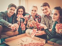Multi-ethnic friends having party Stock Image