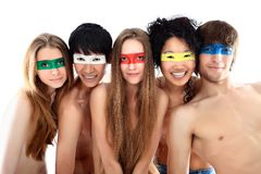 Multi-ethnic group Royalty Free Stock Photography