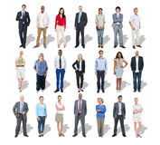Multi-Ethnic Group of Business People.  Royalty Free Stock Images