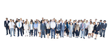 Multi-Ethnic Group of Business Person Royalty Free Stock Photo