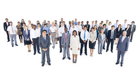 Multi-ethnic group business person Concept.  Royalty Free Stock Photos