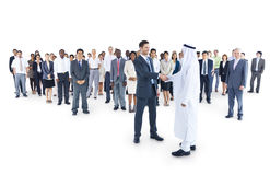 Multi-ethnic group business person Concept.  Stock Images